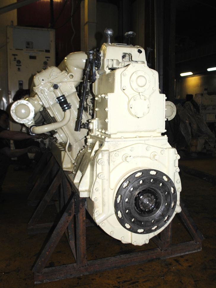 Дизельный двигатель М401А-2