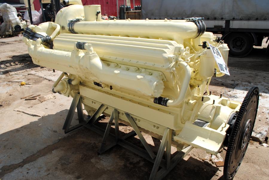 Дизельный двигатель М756