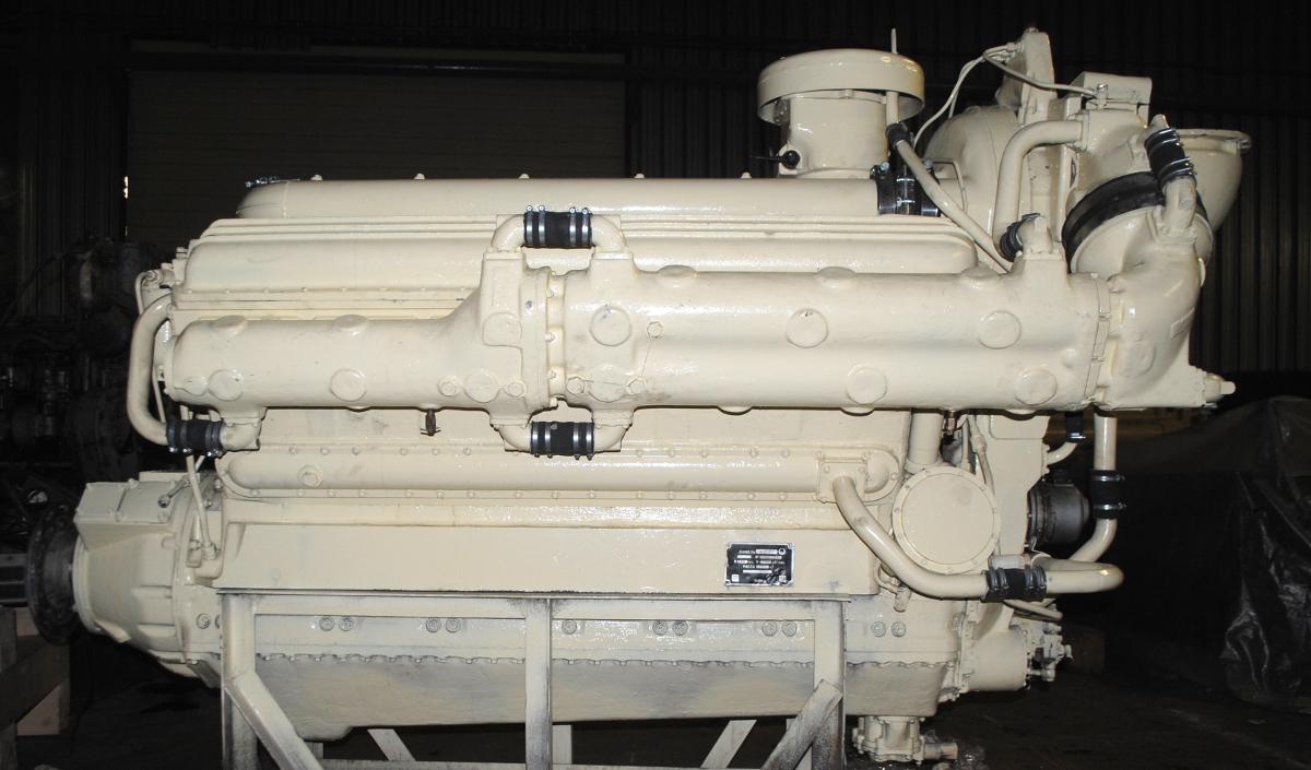 Дизельный двигатель М623