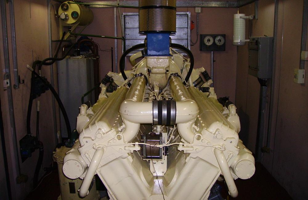 Дизельный двигатель М623 в составе АС-630АМС