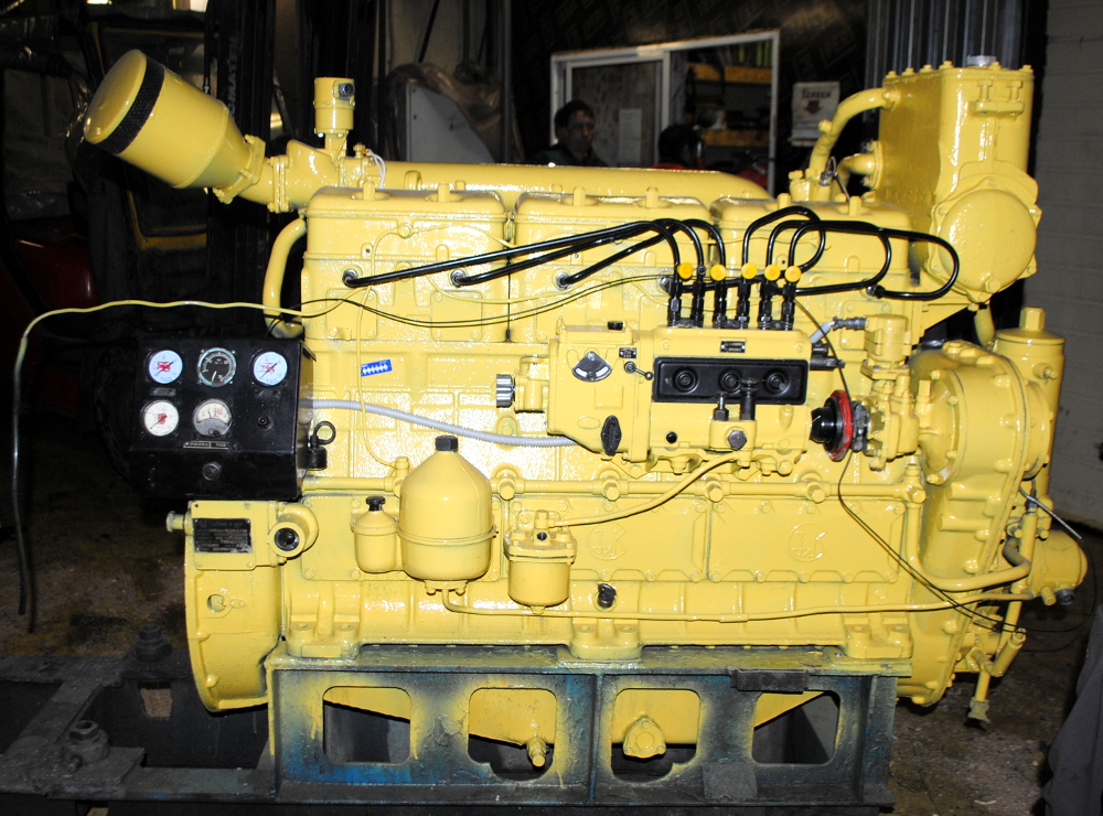 Двигатель К-169 (турбированный 6Ч12/14)