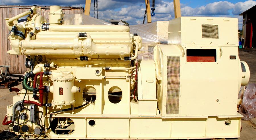 Дизель-генераторная установка КАС-500