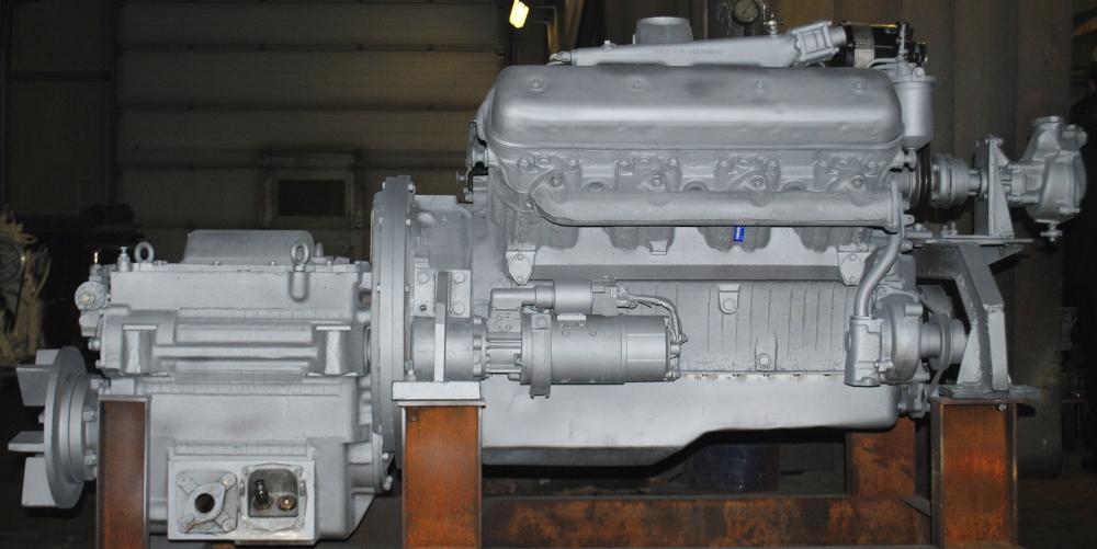 Дизельный двигатель ЯМЗ-238